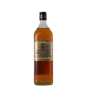 金牌龍邦蘇格蘭威士忌 Lombard Gold Label Blended Scotch Whisky 1L