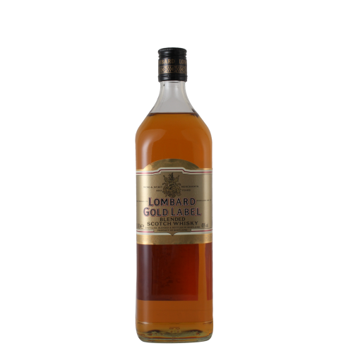 金牌龍邦蘇格蘭威士忌 Lombard Gold Label Blended Scotch Whisky 1L