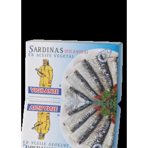警衛牌辣汁沙甸魚 Vigilante Sardines in Spiced Sauce